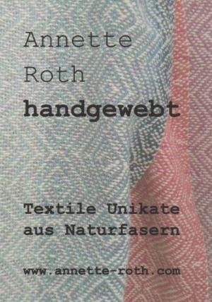 Annette Roth 300x428 Atelier für handgewebte Textilien im Naturpark Schönbuch