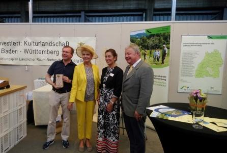 BUGA Landtagsmitglieder  Naturpark Schönbuch auf der BUGA in Heilbronn