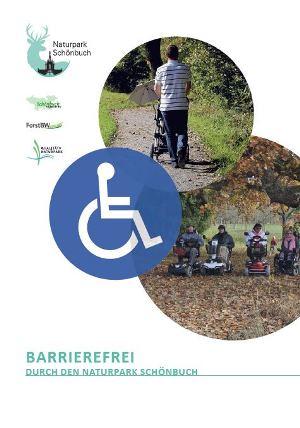 Barrierefrei Die neue Broschüre   barrierefreie Wege im Naturpark Schönbuch