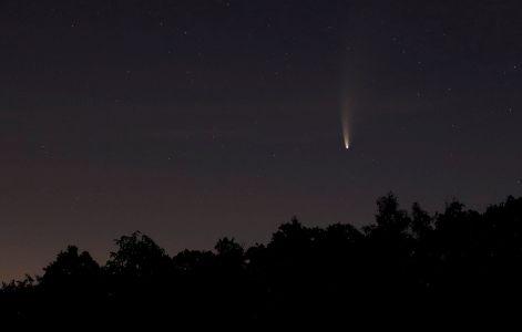 Komet Neowise Klaus Engel 471x300 Komet Neowise über dem Naturpark Schönbuch