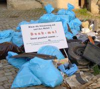Müll-Denkmal © Naturpark Schönbuch