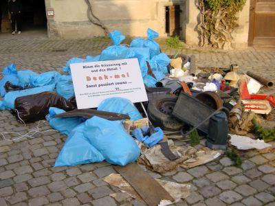 Müll Denkmal 500x300 Ein müllfreier Naturpark Schönbuch
