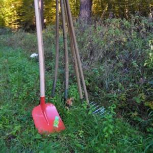 Landschaftspflegeaktion im Naturpark Schönbuch