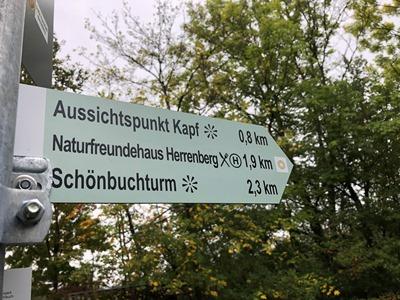 Wegweiser 400x300 Neues Besucherleitsystem für den Naturpark Schönbuch