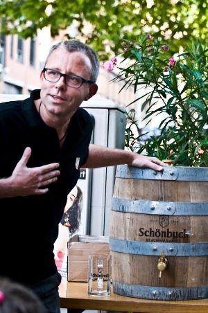 Werner Dinkelaker - Geschäftsführer der Schönbuch Braumanufaktur