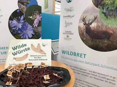 Wildschweinwuerste 500 300 Naturpark Schönbuch auf der Internationalen Grünen Woche in Berlin