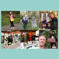 ehrenamtliche Helfer im Naturpark Schönbuch