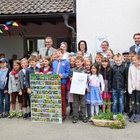 Runde Sache - 70. Naturpark-Schule ausgezeichnet