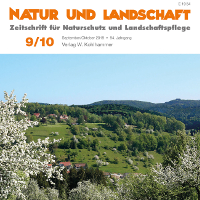 """Schwerpunktausgabe """"Naturparke"""" in  """"Natur und Landschaft"""""""