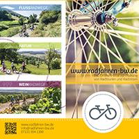 Weinradwege - Flusssradwege - Naturparktouren