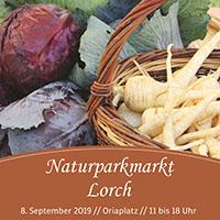 Naturparkmarkt in Lorch