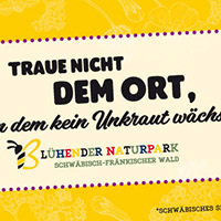 """Infoveranstaltung zum Blühenden Naturpark """"Forum Bienenweide"""""""