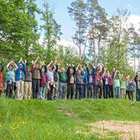 Die Naturparkführer/-innen im Naturpark Schwäbisch-Fränkischer Wald boten 2018 über 900 Veranstaltungen an