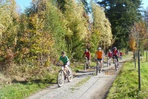 Geführte Mountainbike-Tour mit Naturparkführer Klaus Pfeffer