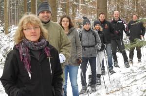 Schneeschuhtour um Kaisersbach