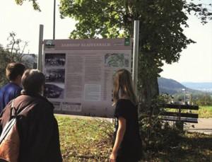 Naturpark aktiv - Bahnerlebnispfad - Technik und Natur