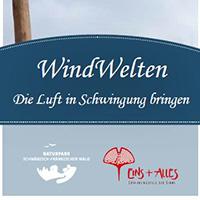 Das Element Luft sicht- und hörbar gemacht WindWelten-Workshops im EINS+ALLES Erfahrungsfeld der Sinne