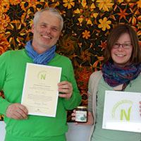 160330 31 NC Sigel NPSFW 10 klein Siegel Vergabe zum Nachhaltigen Partnerbetrieb