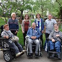 """Arbeitsgruppe """"Naturparkwandern mit Handicap"""""""
