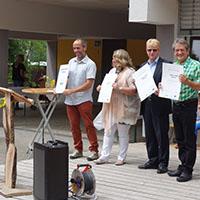 Grundschule Spiegelberg als Naturpark-Schule ausgezeichnet