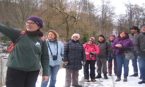 18.01.07 NP aktiv Ruecker Naturpark aktiv: Geistreiche Geschichten im Winterwald
