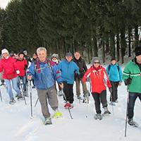 Schneeschuhtour - zu den Mühlen
