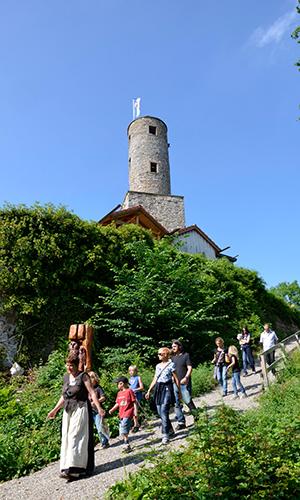 190219 Burg Löwenstein Naturparkführer Saisonbeginn auf Burg Löwenstein