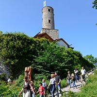 Saisonbeginn auf Burg Löwenstein