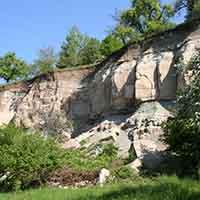 Der Urbacher Bergrutsch - Wandel einer Landschaft