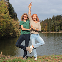 Yoga und Natur am Ebnisee