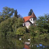 Murrhardt - Blick auf die Walterichskirche