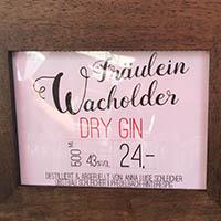Regionales Produkt: Gin