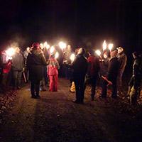 Naturpark aktiv - Rauhnachtwanderung