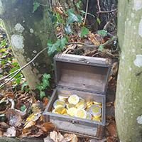 Naturpark aktiv - Räuberwanderung zur Mordklinge mit Schatzsuche