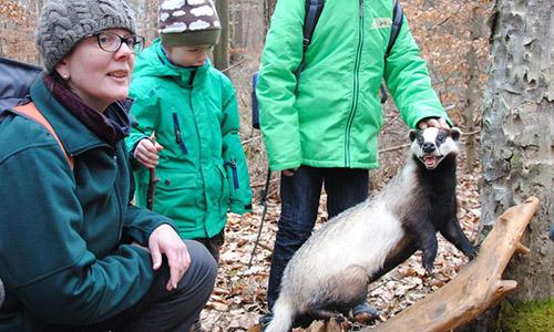 200112 NPaktiv Ruecker1 Naturpark aktiv   Den Wildtieren auf der Spur
