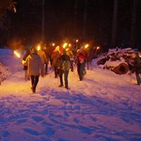 Naturpark aktiv - Feuer, Eis und Winterwald