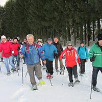 Schneeschuhtour zu den Mühlen
