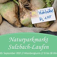Naturparkmarkt Sulzbach-Laufen