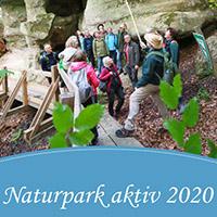 Broschüre Naturpark aktiv 2020