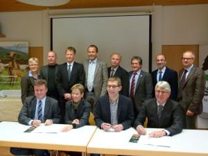 Geschäftsführen und Vorsitzenden die Naturparke in Baden-Württemberg