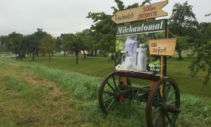Frische Milch zum fairen Preis