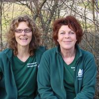 Ein Wochenende im Kloster Lorch mit den Naturparkführerinnen Michaela Genthner und Petra Klinger
