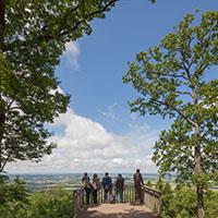 Heitere Aussicht auf ein schönes Naturparkjahr!