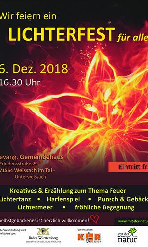 2018 12 06 Lichterfest Plakat1groß Lichterfest für alle