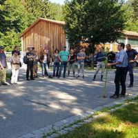 Geocacher unterstützen 6. Neophytenaktionstag in Spiegelberg