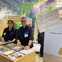 Blick zurück nach vorn: Naturparkführer informierten auf der CMT
