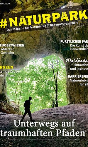 2020 Hashtag Naturparke BW Titel klein Magazin #Naturpark bietet besondere Natur Tipps