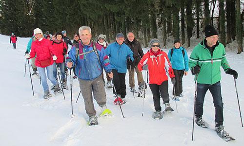210221 NPaktiv Hieber Naturpark aktiv 2021   Schneeschuhtour zu den Mühlen