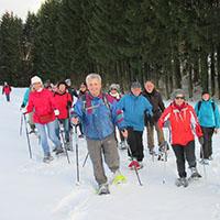 Naturpark aktiv 2021 - Schneeschuhtour zu den Mühlen