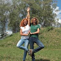 Naturpark aktiv 2021 - Baum-Yoga und Natur
